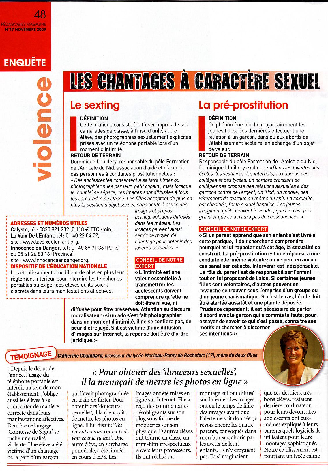 2009 11 Pédagogie Magazine p 48