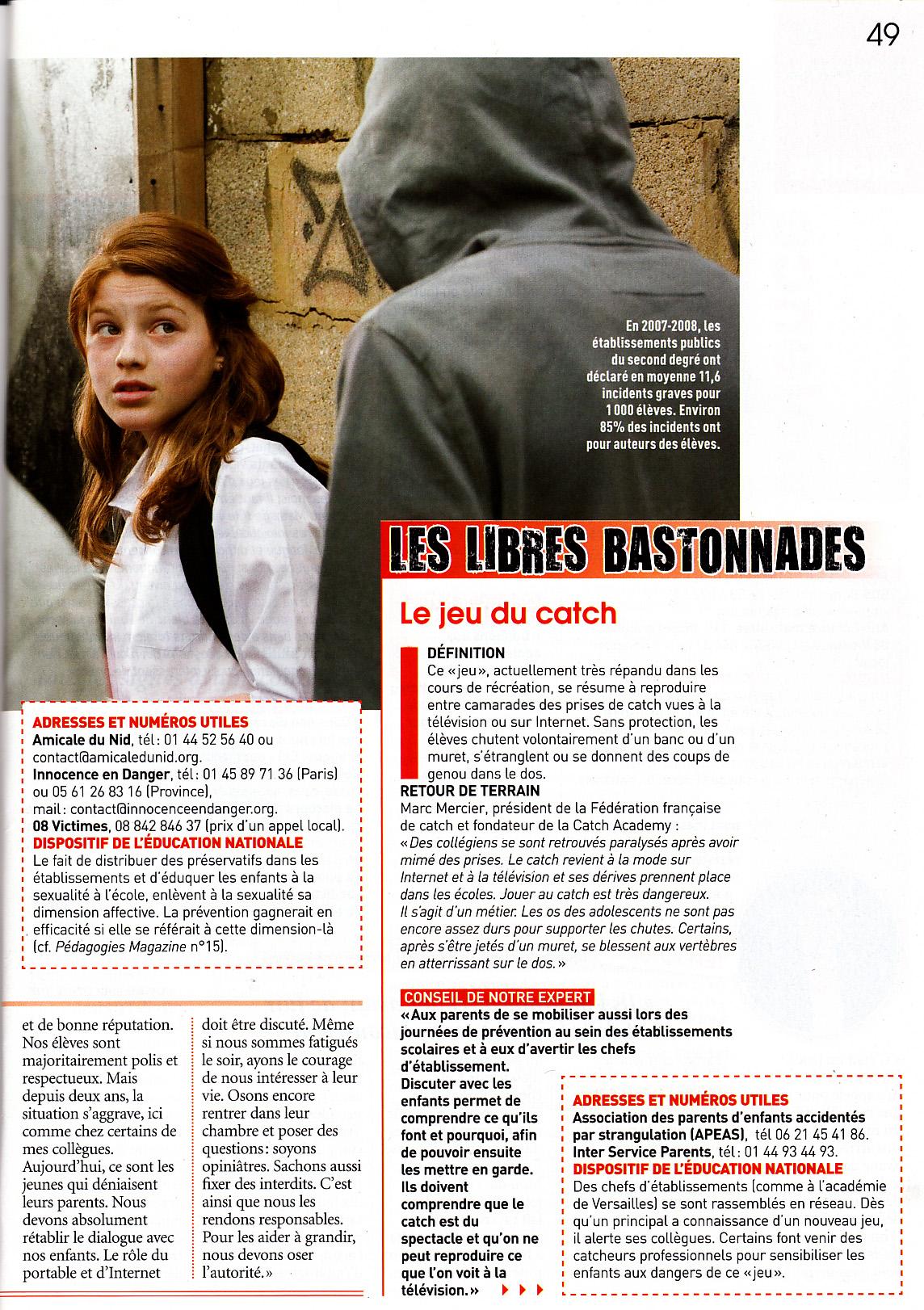 2009 11 Pédagogie Magazine p 49