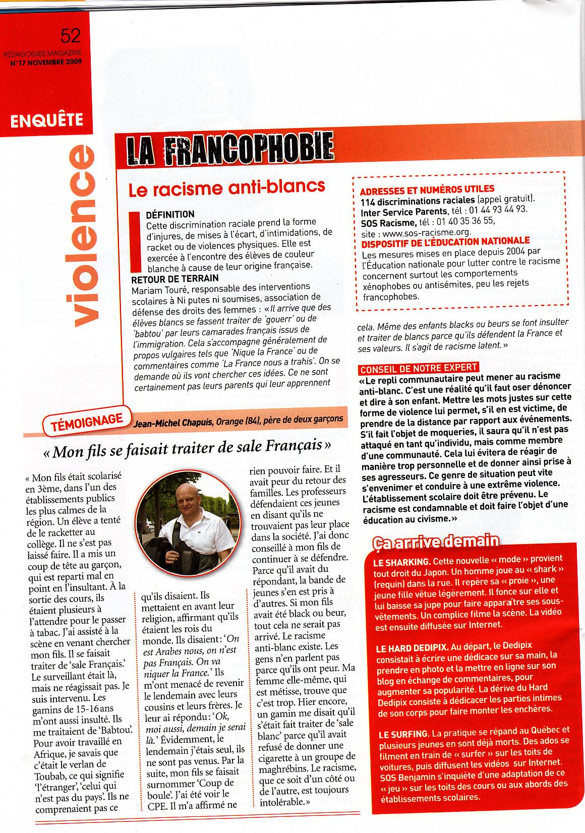 2009 11 Pédagogie Magazine p 52